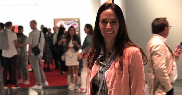 Sofía Bullrich, egresada de Arte UP, trabaja para la revista ArtNexus y participó del Art Basel in Miami Beach