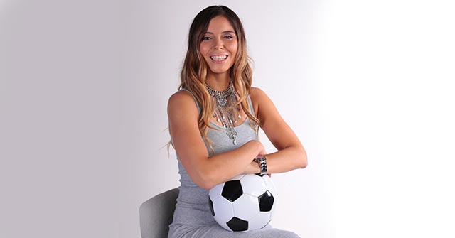 Verónica Bianchi, Periodista Deportiva UP y conductora de TV en Chile