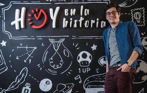 Diego Hernández, egresado de Periodismo Deportivo UP, trabaja en el Ministerio del Deporte de Colombia