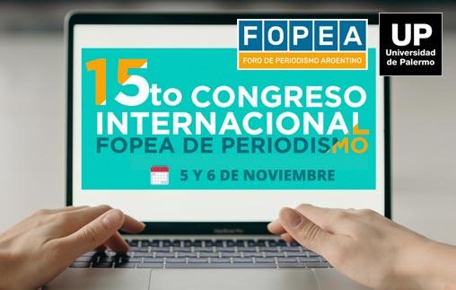 15to Congreso Internacional FOPEA de Periodismo