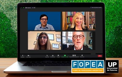 Congreso Internacional de Periodismo FOPEA con el apoyo académico de la Universidad de Palermo