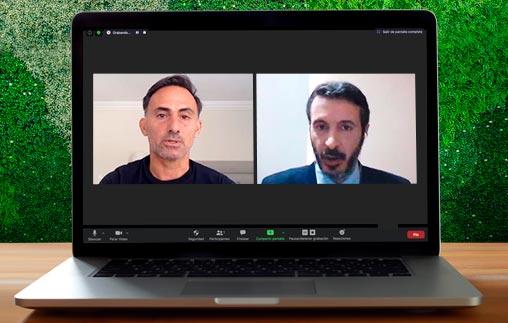 Diego Latorre disertó sobre su visión y experiencia en el Fútbol y el Periodismo Deportivo