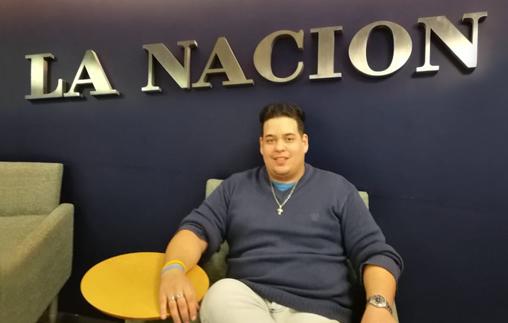 Alejo Villagra, Periodista UP, escribe para la sección Deportes del diario La Nación