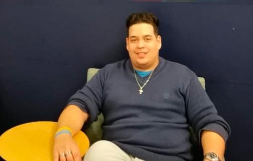 Alejo Villagra, Periodista UP, trabaja en la sección Deportes del diario La Nación