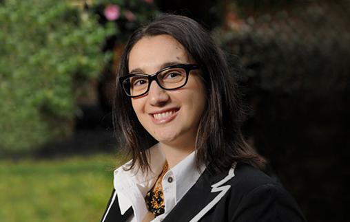Ana de Pascale, egresada de Ciencia Política UP, es asesora de UCR Evolución en la Legislatura