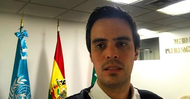 Diego Suárez Escalante, egresado de Relaciones Internacionales y Ciencia Política UP, integra la Misión Permanente de Bolivia ante la ONU