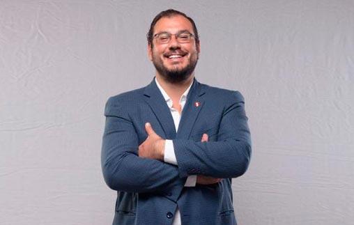 Nicolás Rey Verme, egresado de Periodismo Deportivo UP, es jefe de prensa de la Selección de Fútbol de Perú