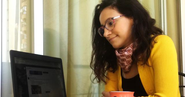 Silvina Darago estudia Periodismo en la UP y es redactora desde hace 13 años en Clarín web