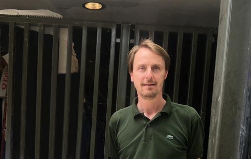Jens Wolter, Arquitecto UP, combina desde Alemania el ejercicio profesional con la docencia