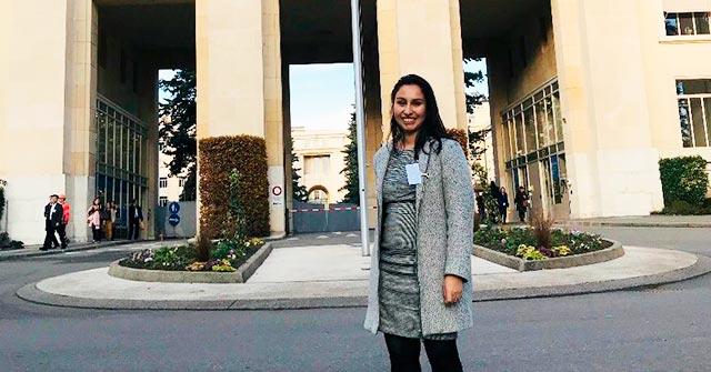 Daniela Camargo, egresada de la Maestría en Derecho Constitucional UP, es coordinadora de DDHH y Anticorrupción en Pacto Global Colombia