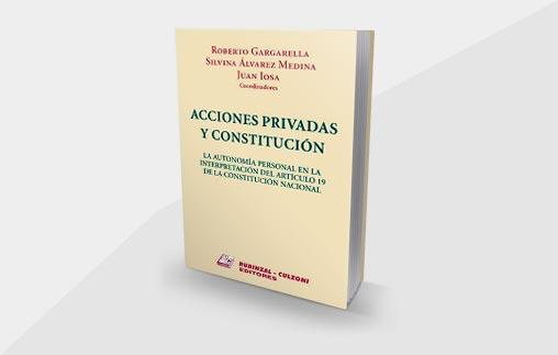 La profesora Agustina Ramón Michel y el profesor Roberto Saba contribuyeron en el recién lanzado libro