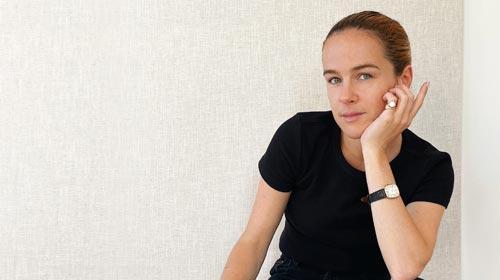 Martina Arcucci, egresada de Producción de Moda UP, trabaja como estilista en Nueva York