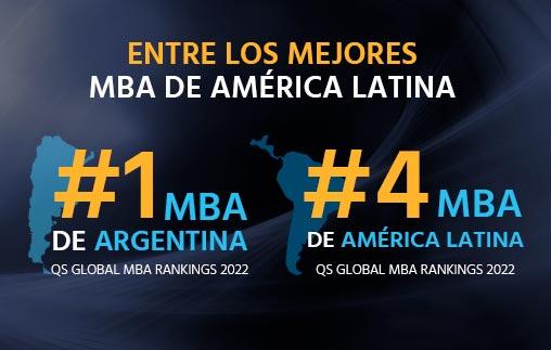 El MBA UP es #1 de Argentina y Top 4 de América Latina en el QS Global MBA Rankings 2022