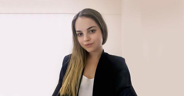 Agustina Sarcone, Contadora Pública UP, trabaja en el estudio CROZ Tax & Legal