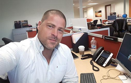 Alejandro Soba, Contador Público UP, es gerente de Contabilidad del Suburban Hospital de Bethesda, Estados Unidos