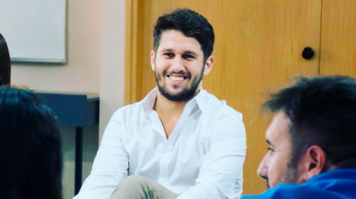 Guido Fernández Peralta, estudiante del MBA UP, Project Manager en GCBA