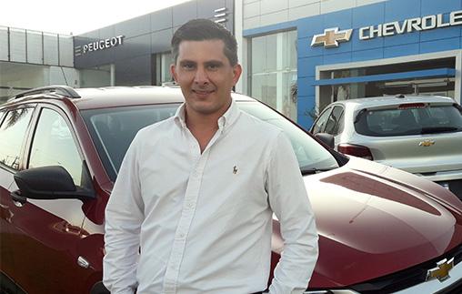 Iván Lebedevski, Contador Público UP, es gerente de Administración en Andina Motors