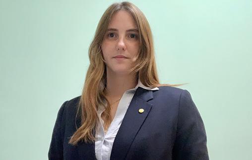 María Inés Brem, Contadora UP, trabaja en Planificación y Control del Banco Nación