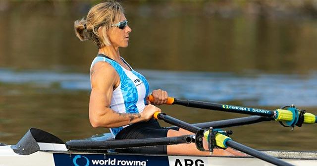 Milka Kraljev, remera olímpica y medallista panamericana, estudia online Comercialización y Dirección de Empresas UP