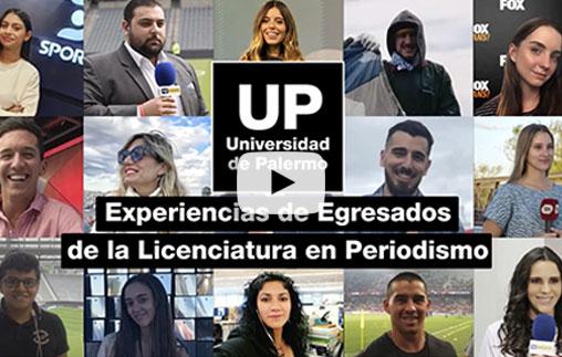Conocé cómo es estudiar la Licenciatura en Periodismo en la UP
