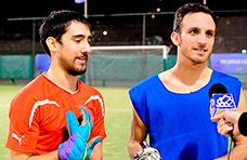 Agustín Castoldi y Pablo Orán