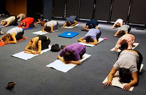 Que el yoga no pare