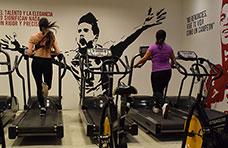 El Gym en marcha