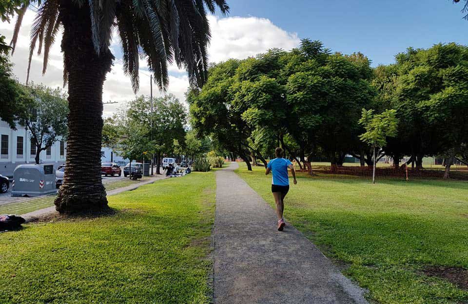 Circuito de atletismo: Parque avellaneda