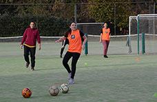 De pizarrón: Fútbol femenino