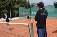 Día del entrenador de tenis