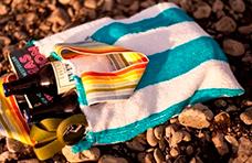 Bolso de playa reciclado
