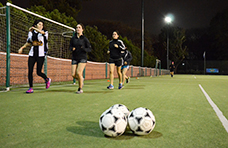 """Fanática del fútbol"""