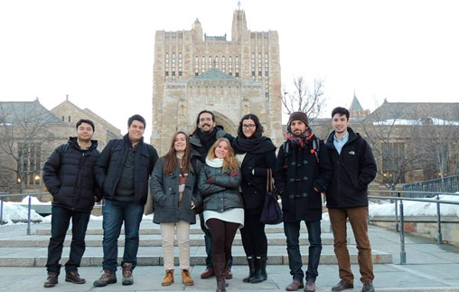 Estudiantes de la Facultad de Derecho de la UP en Yale Law School