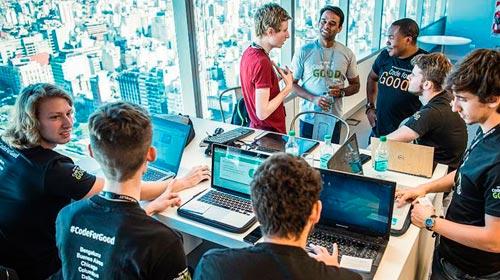 Finalistas del HackathonJP Morgan