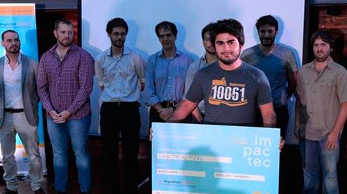 Alumno UP gana concurso ImpacTec 2018