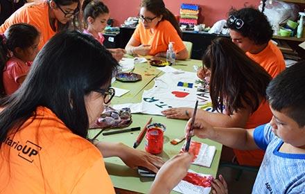 Jornada de arte en Tupambaé