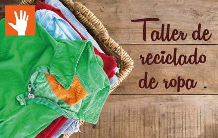 Taller de reciclado de ropa