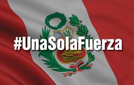 ¡Fuerza Perú!