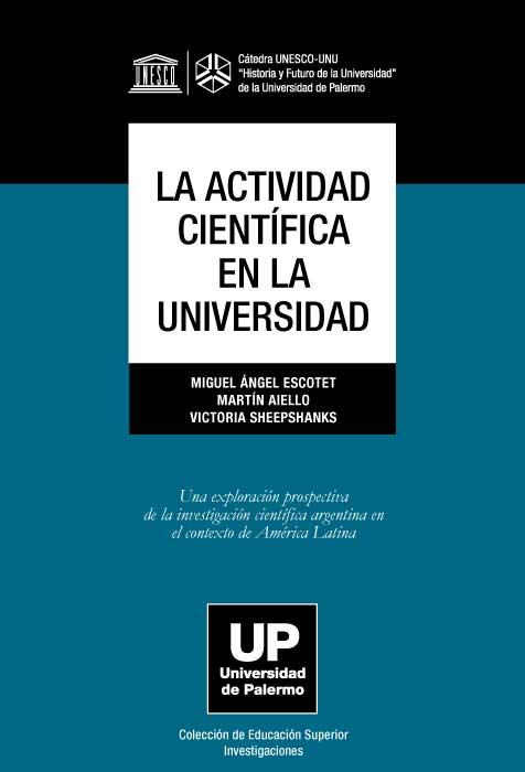 La actividad científica en la universidad