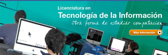 Licenciatura en Tecnología de la Información