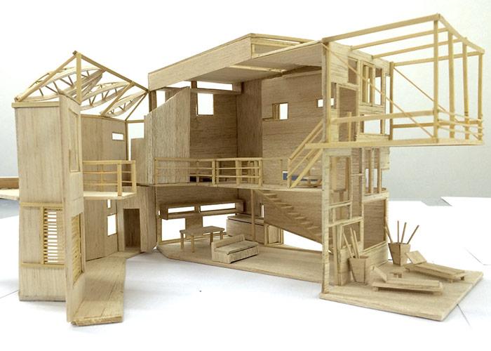 Trabajos de alumnos arquitectura facultad de for Trabajo de arquitecto