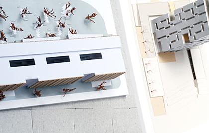 Muestra de trabajos de talleres de arquitectura
