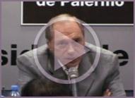 Dr. Eugenio Zaffaroni disert&oacute; en la Conferencia:&nbsp;<br />&iquest;Es leg&iacute;timo criminalizar la protesta en la v&iacute;a p&uacute;blica?