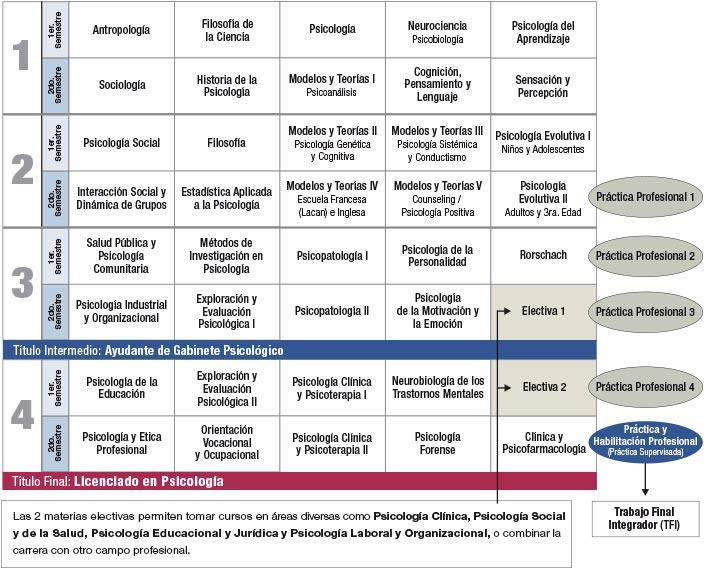 Plan De Estudios Psicolog A Facultad De Ciencias