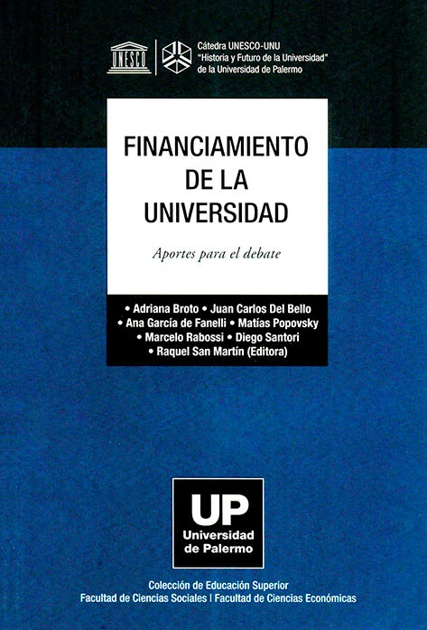 Financiamiento de la universidad