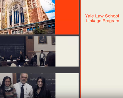 Alumnos de Derecho UP en el Linkage Program 2014 - Yale Law School