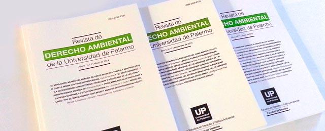 la revista de derecho ambiental es una publicacin de la facultad de derecho de la universidad de palermo centrada en el anlisis de los problemas
