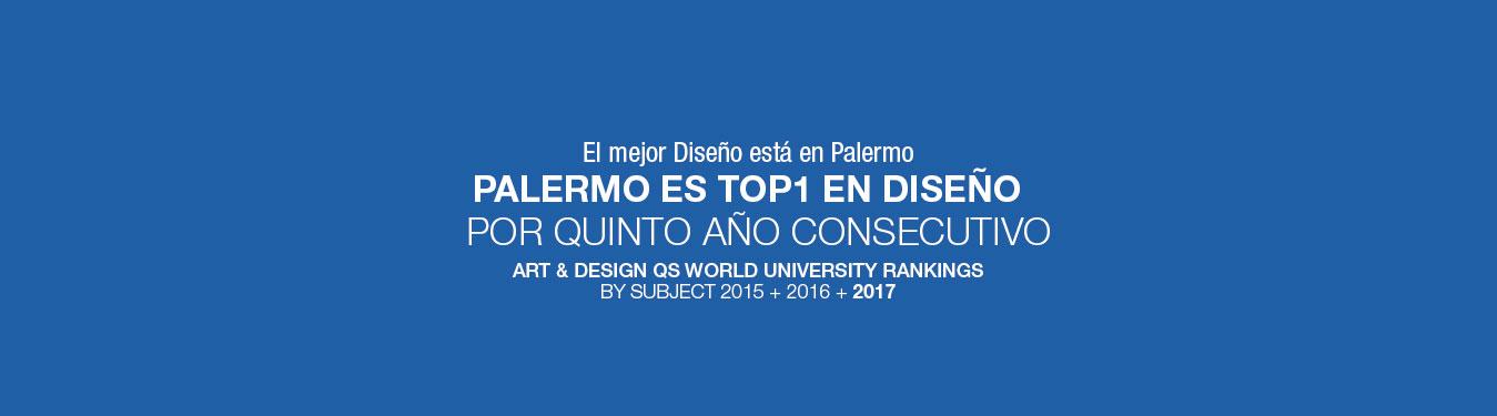 En Diseño, Palermo es la Mejor Universidad Privada Argentina