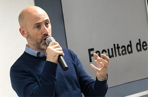 Juan Pablo Lafosse, CEO de Almundo, en el Ciclo de Charlas con CEO´s de la UP
