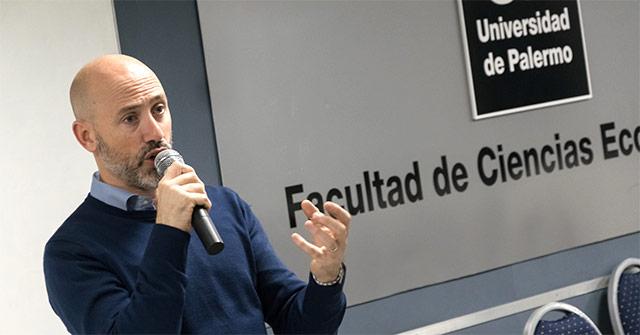 Juan Pablo Lafosse, CEO de Almundo, en la UP